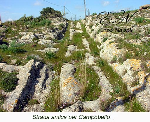 Strada antica per Campob.