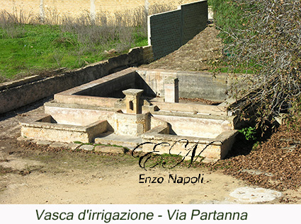 Vasca d'irrigazione - Via Partanna