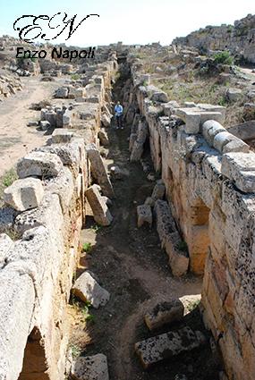 14 - Acropoli, fortif. nord (5), galleria